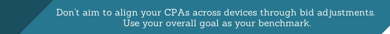Bid to Reach Your Goals, Not to Align Metrics - White Shark Media Blog